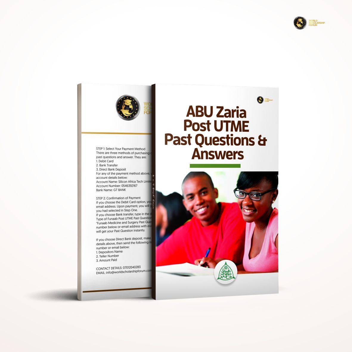 abu-zaria-past-question-answers
