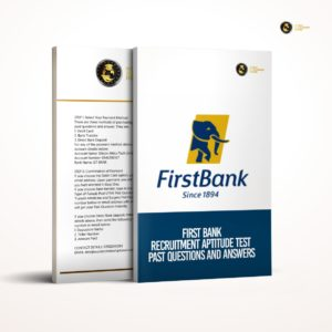 Firstbank aptitude test past questions and answers