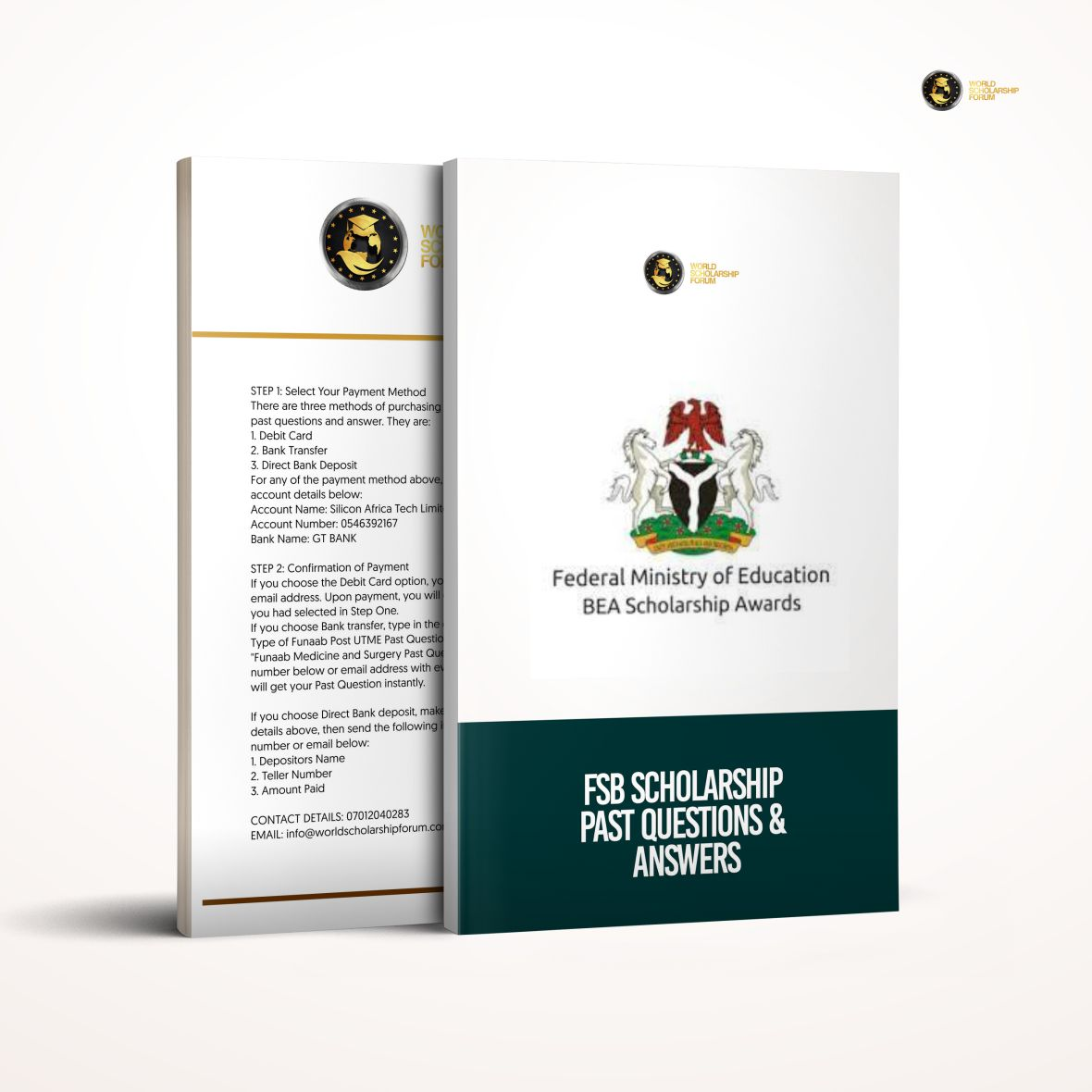 Federal-Government-Scholarship-FSB-Past-questions-and-answers