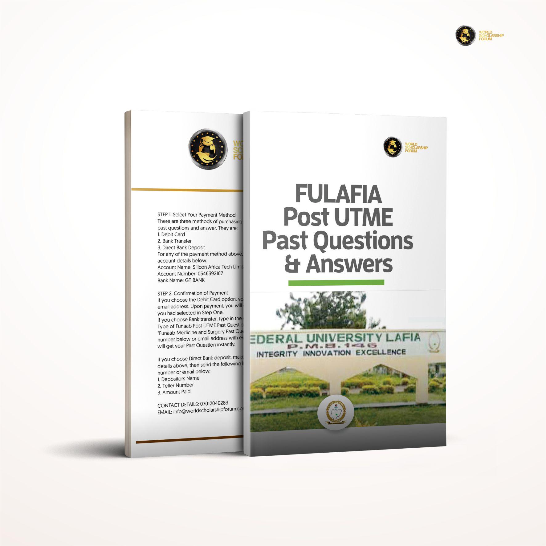 fulafia-post-utme-2020
