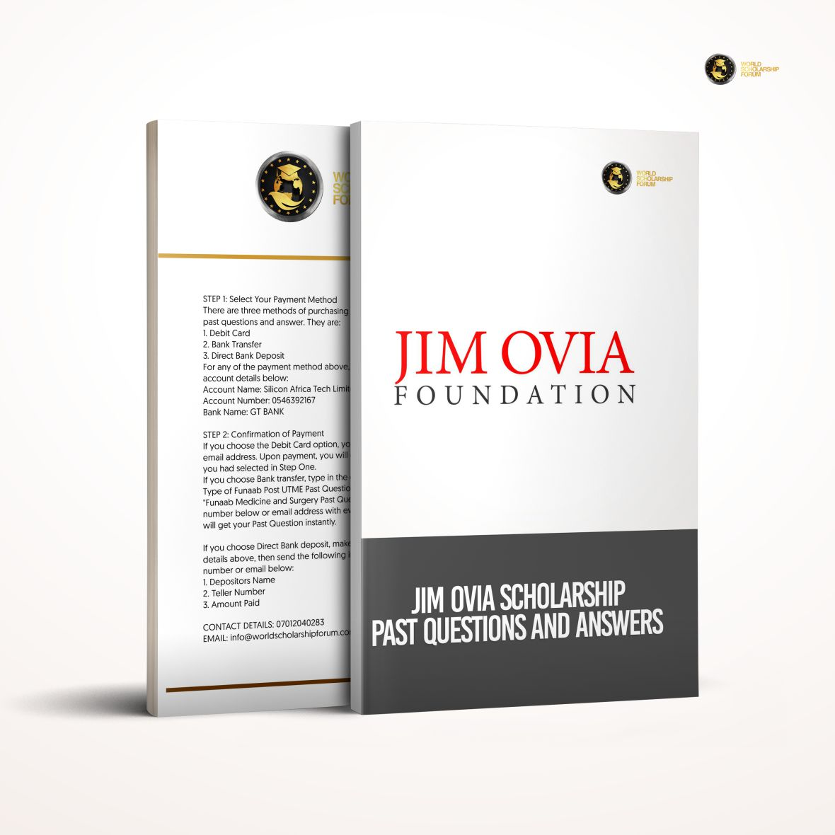 Jim Ovia Foundation Undergraduate Scholarship Test Questions