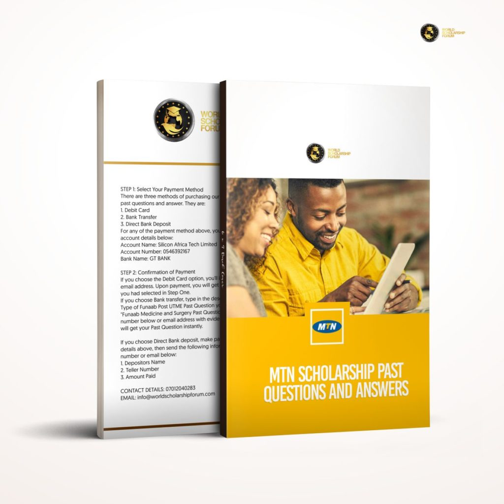 MTN Scholarship Past Questions and Answers