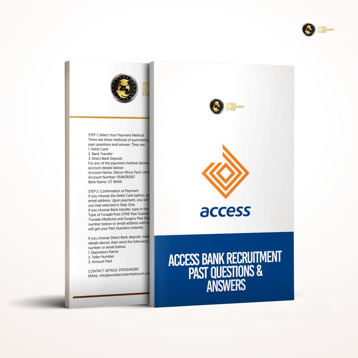 diamond-access-bank-recruitment-past-questions