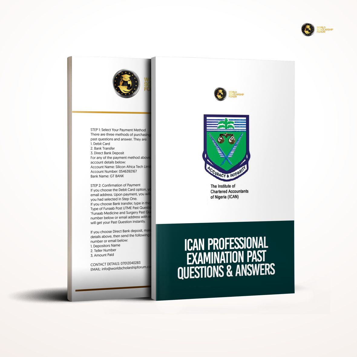 Ican Professional Examination Study Pack | Past Questions & Answers