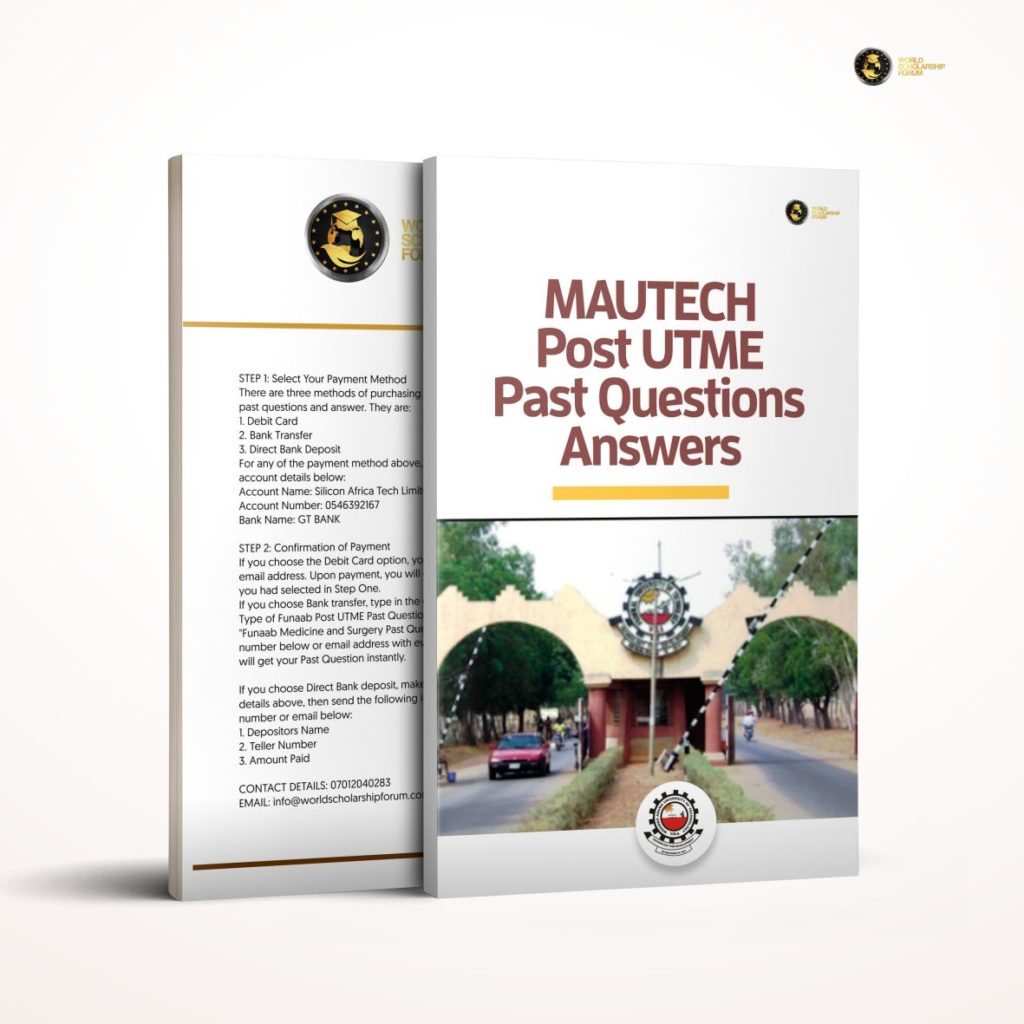 mautech-post-utme-past-questions-answers
