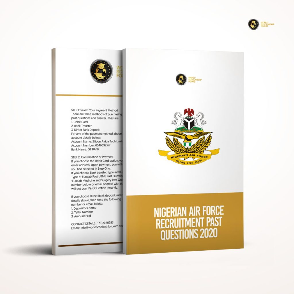 Nigerian Air Force Recruitment Past Questions and Answers