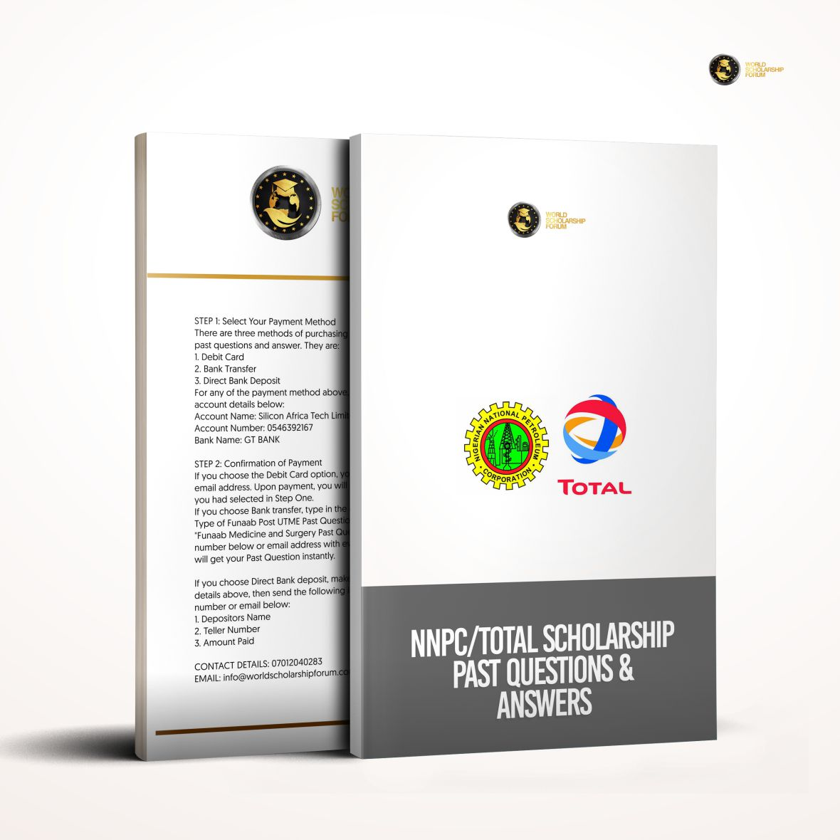 NNPC Total Scholarship Scheme Aptitude Test Past Questions and Answers