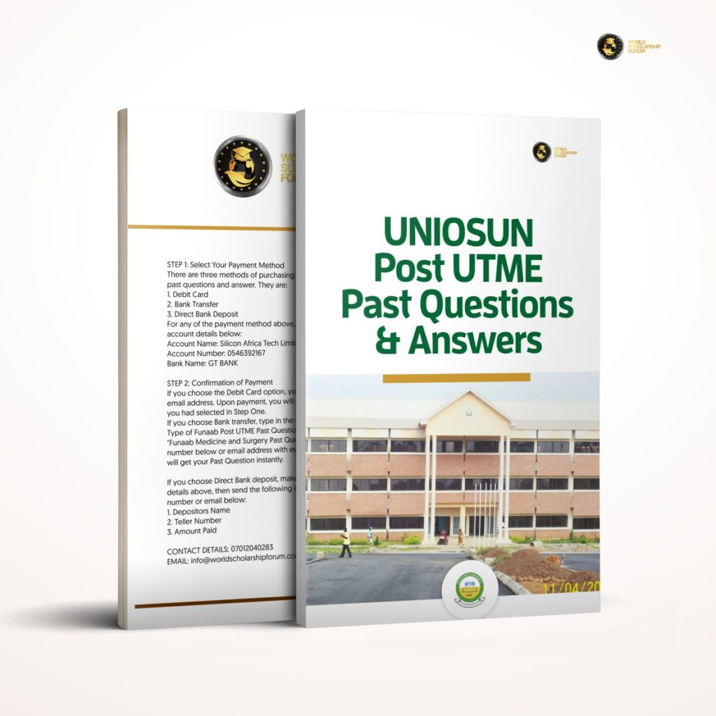 uniosun-post-utme-past-question