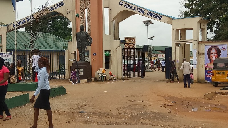 Alvan Ikoku College of Education Post Utme Past Questions & Answers