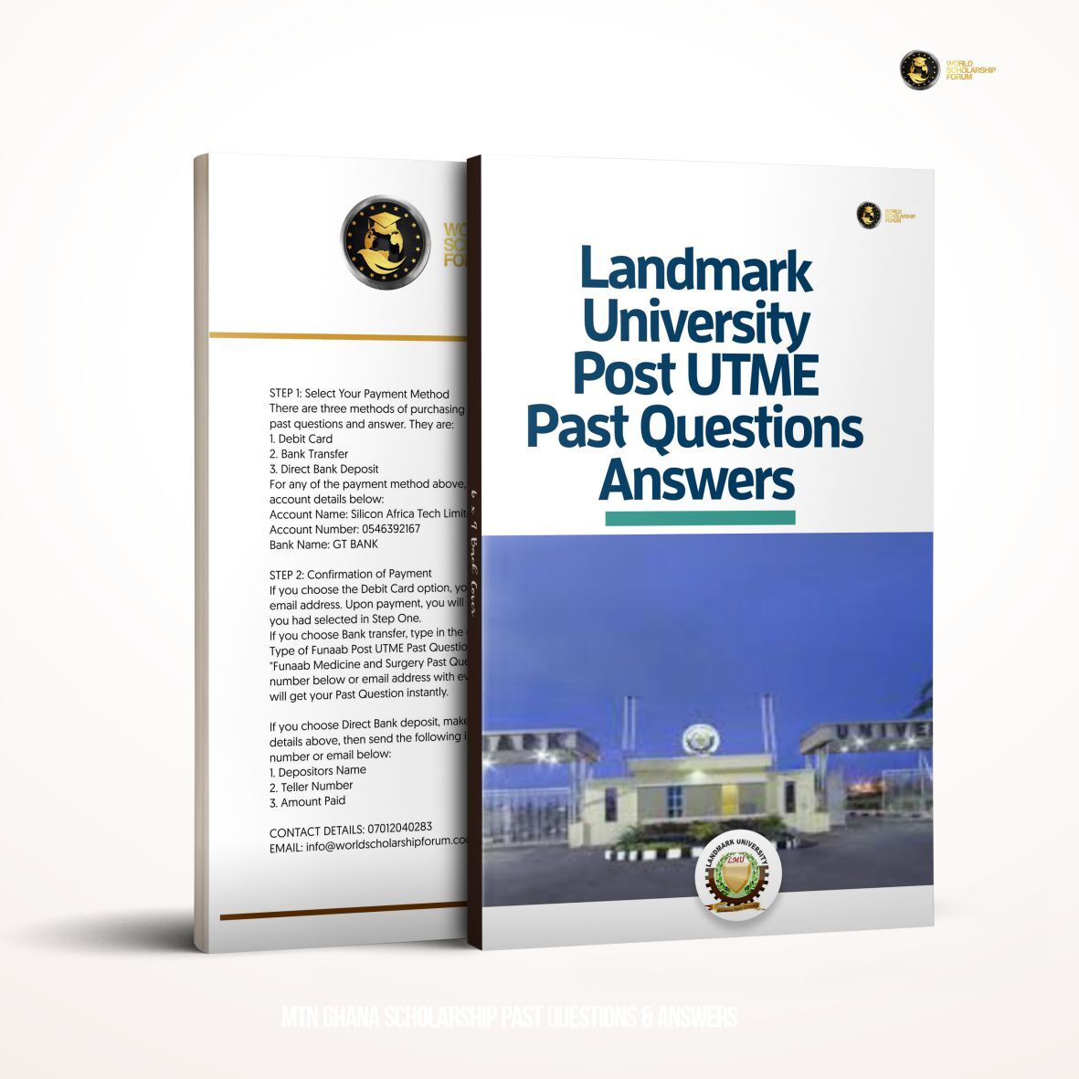 Updated Landmark University Post Utme Past Questions & Answers