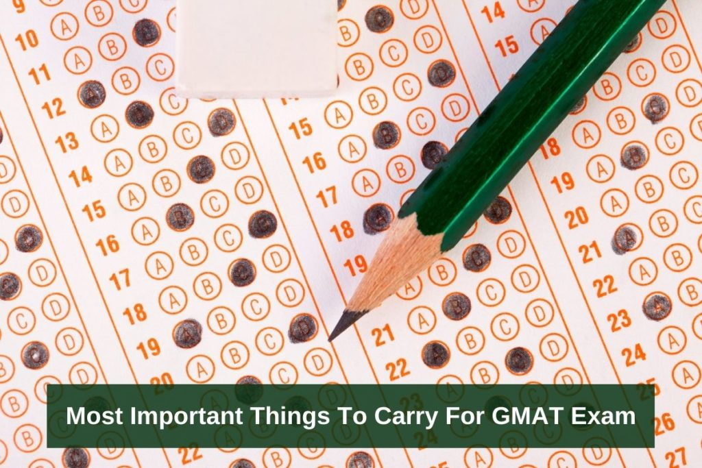 what to bring to gmat exam