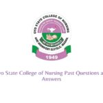 College of Nursing Past Questions