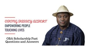 Senator Obong Bassey Albert (OBA) scholarship
