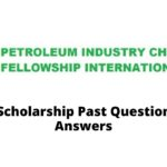 Petroleum Industry Christian Fellowship International (PICFI) scholarship award