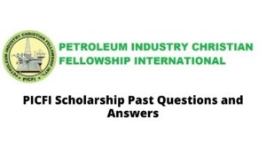 Petroleum Industry Christian Fellowship International (PICFI) scholarship award