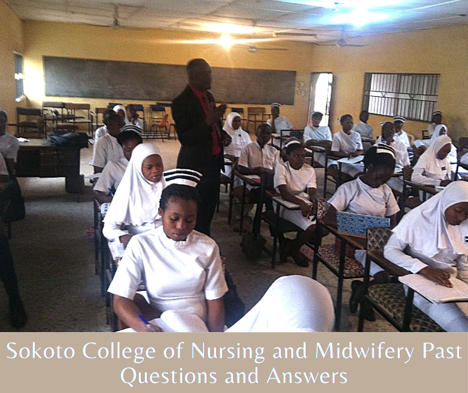 Sokoto College of Nursing Past Questions