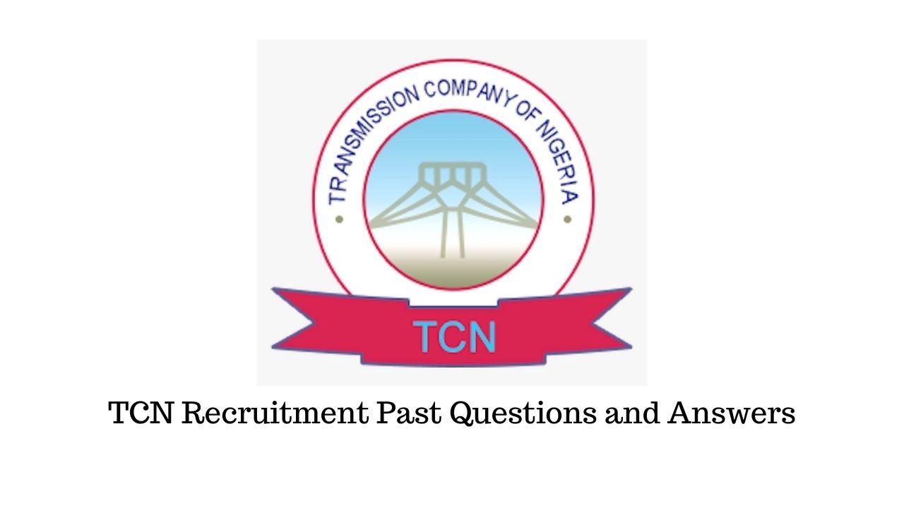 Transmission Company of Nigeria - TCN test recruitment